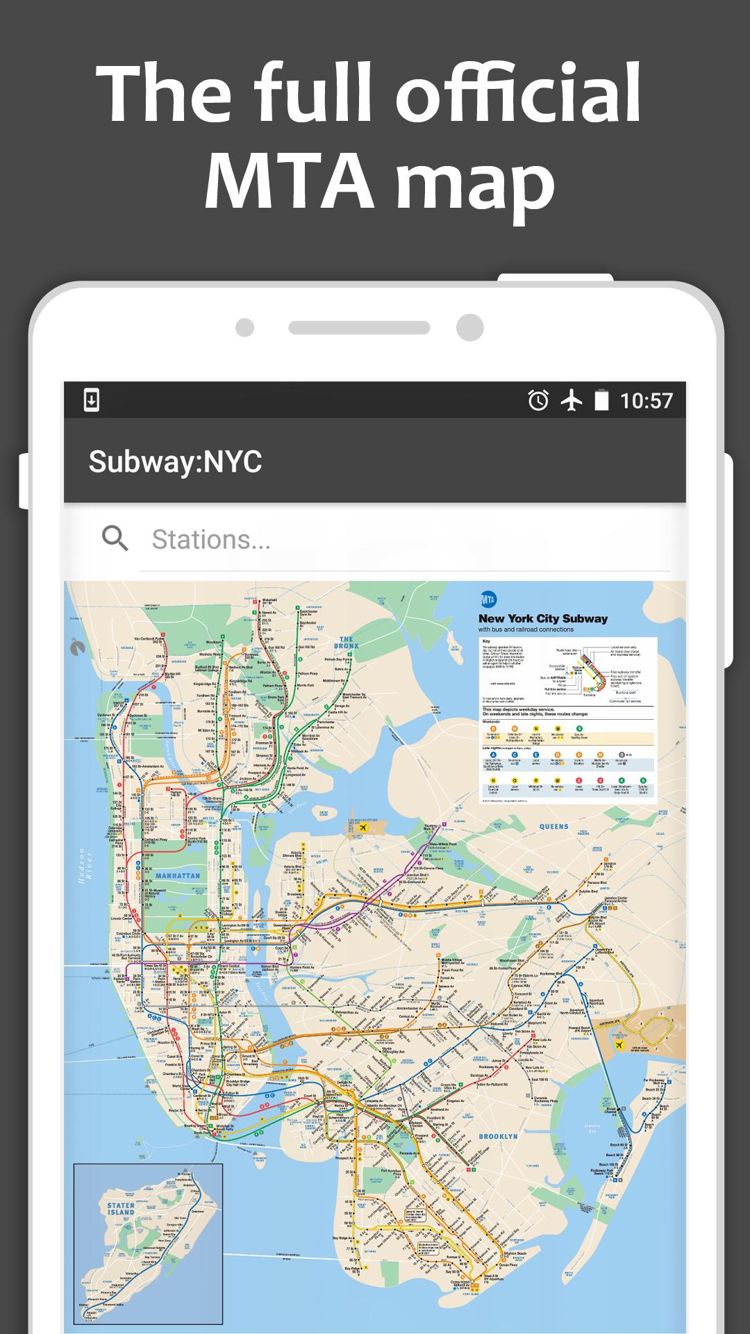 Map New York Offline.Map Of Nyc Subway Offline Mta For Android Apk Download