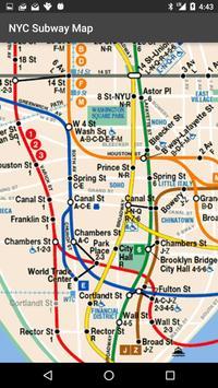 Map of NYC Subway: offline MTA screenshot 1