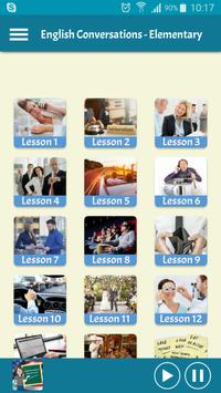 Learning English - Conversations for Elementary poster