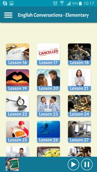 Learning English - Conversations for Elementary screenshot 1