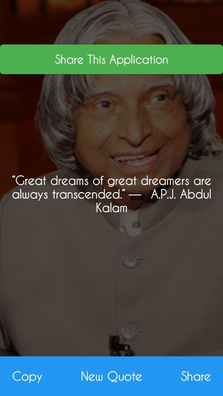 Apj Abdul Kalam Daily Motivational Quotes App 2018 For Android Apk