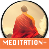 Meditation Plus: music, timer, relax-icoon