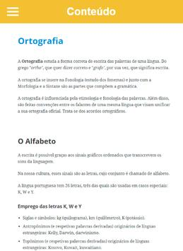Curso de Ortografia screenshot 10