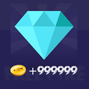 +999999 FF Diamonds-Coins Guide APK Android