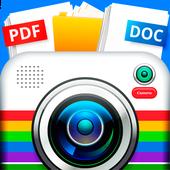 Tercüman Kamera Resmi çevir tarayıcı PDF simgesi