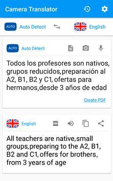 Tercüman Kamera Resmi çevir tarayıcı PDF Ekran Görüntüsü 2