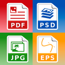 Photo & Image converter: jpg pdf eps psd png bmp.. APK Android