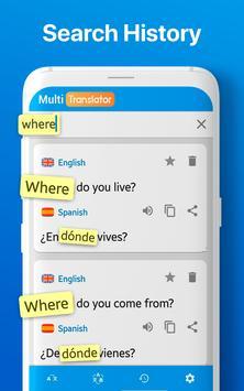 Traductor de Idiomas Múltiple Traducir Documentos captura de pantalla 12