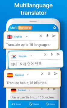 Traductor de Idiomas Múltiple Traducir Documentos captura de pantalla 14