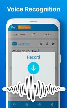 Traductor de Idiomas Múltiple Traducir Documentos captura de pantalla 5