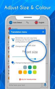 Translate voice - Translator screenshot 4