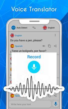 Translate voice - Translator screenshot 6