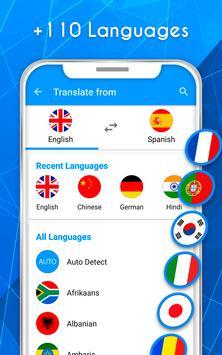 Translate voice - Translator screenshot 1
