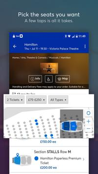 Ticketmaster UK Event Tickets captura de pantalla 3