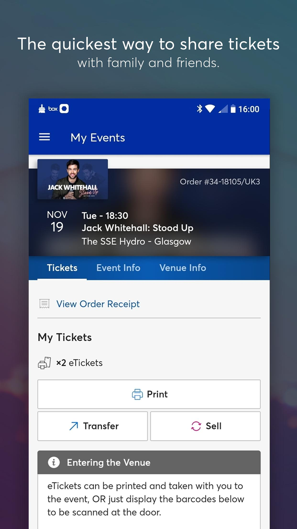 Ticketmaster UK Event Tickets for Android - APK Download