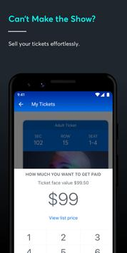 Ticketmaster-Buy, Sell Tickets to Concerts, Sports تصوير الشاشة 4