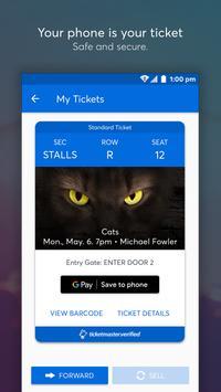 Ticketmaster NZ Event Tickets captura de pantalla 3