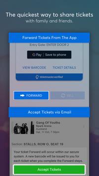 Ticketmaster NZ Event Tickets captura de pantalla 5