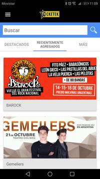Ticketek screenshot 1