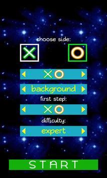 Galaxy Tic Tac Toe screenshot 1