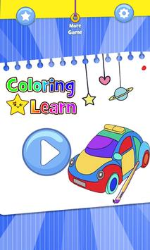 Cars Coloring Book Pages: Kids Coloring Cars screenshot 5