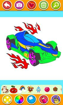 Cars Coloring Book Pages: Kids Coloring Cars screenshot 7