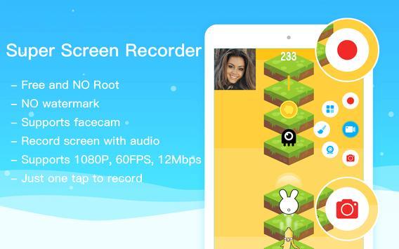 Super Screen Recorder–No Root REC & Screenshot screenshot 8
