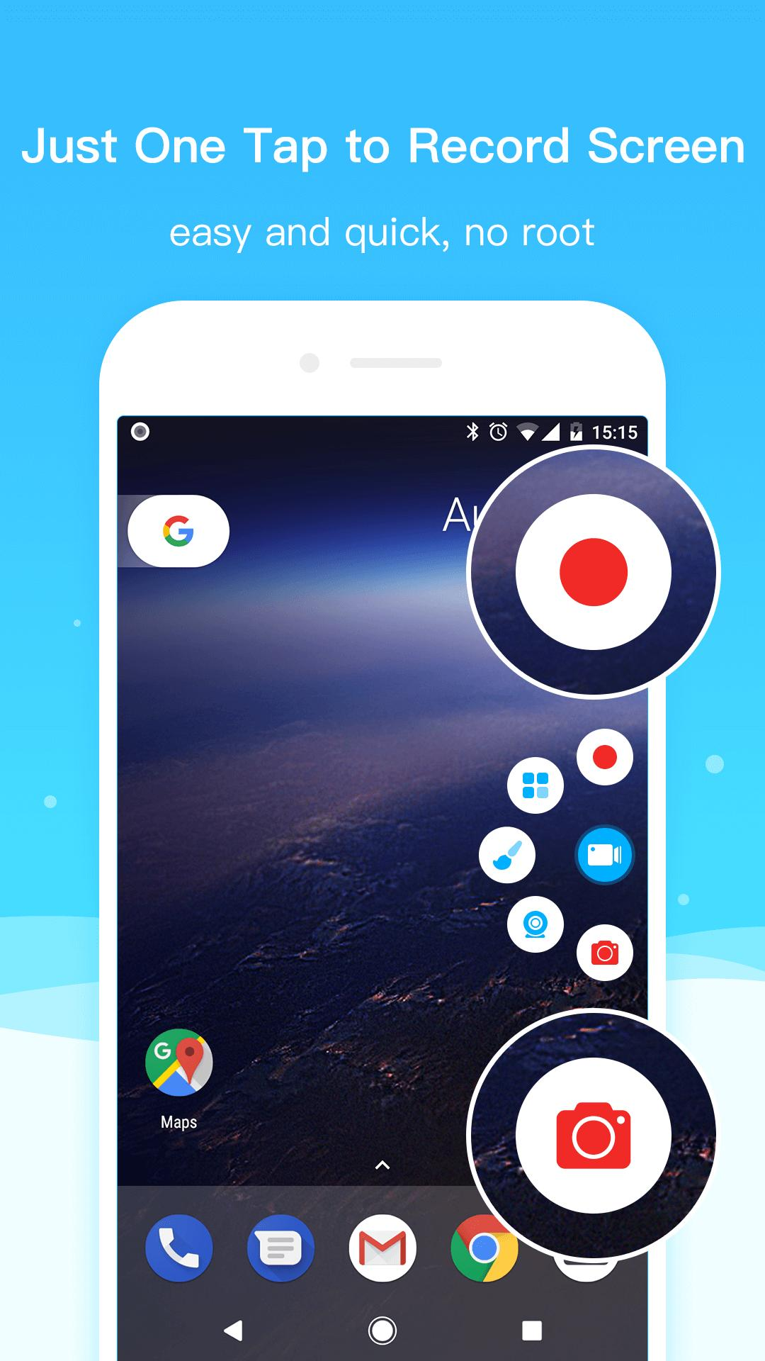 Super Screen Recorder–No Root REC & Screenshot for Android