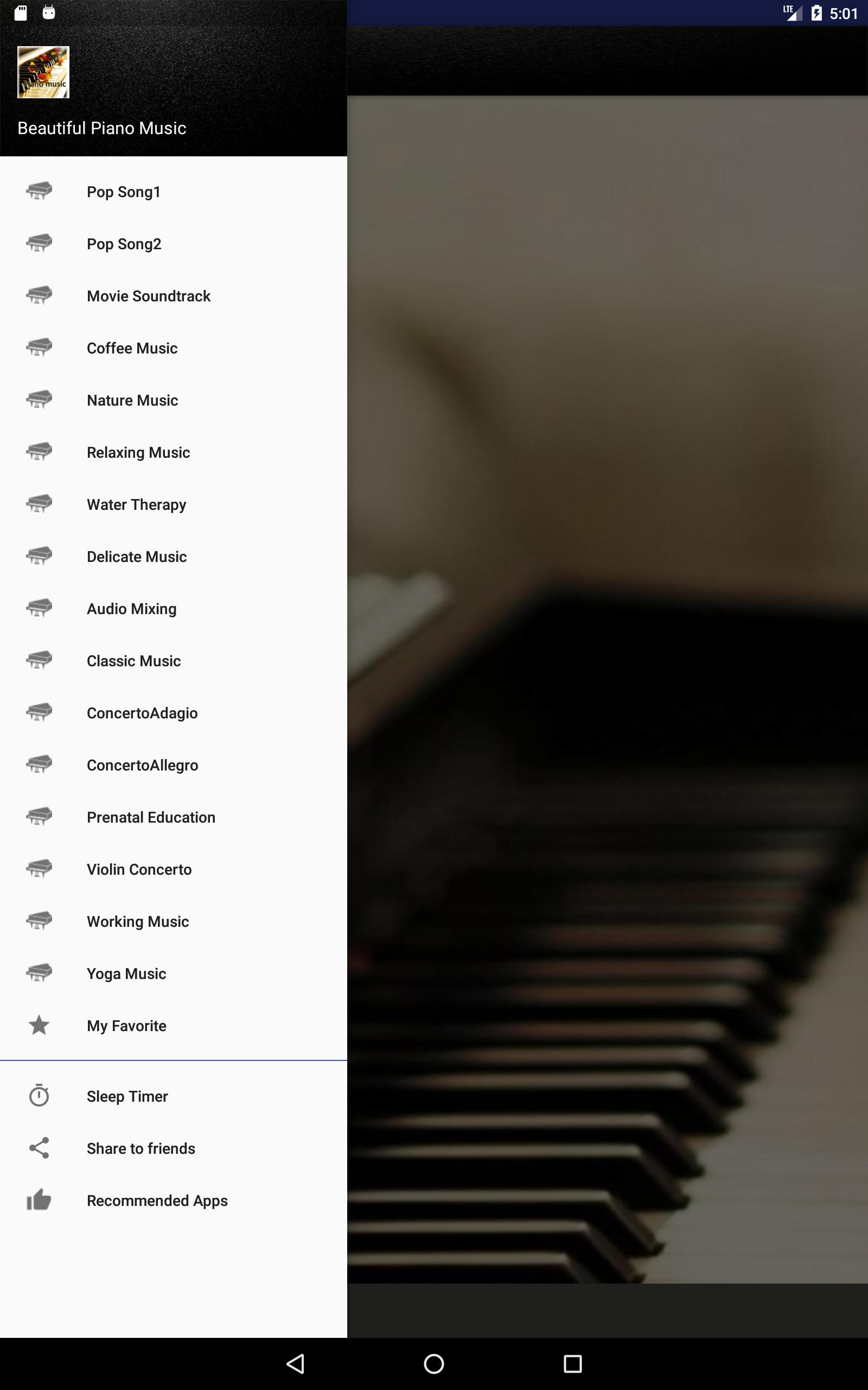 Relaxing Piano Music for Android - APK Download