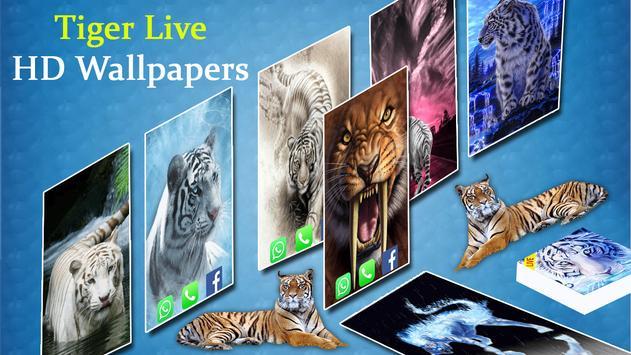 Tiger Live Wallpapers 2018-Latest Tiger Background screenshot 4