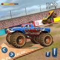 Fearless Monster Truck Demolition Racing Stunts