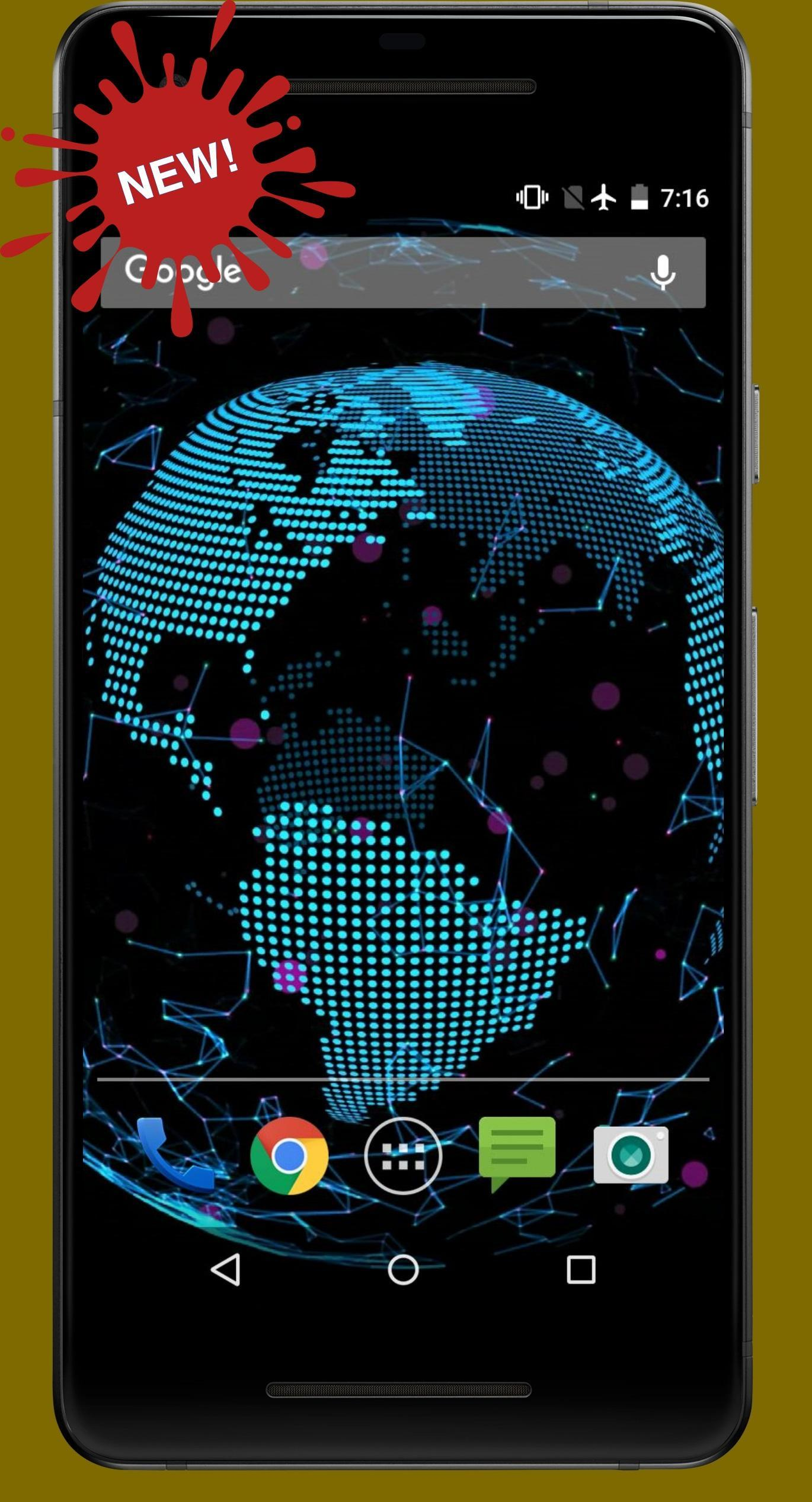 Sci Fi Futuristic Planet Earth Live Wallpapers For Android