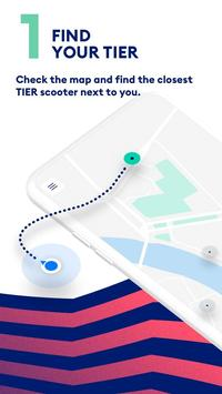 TIER - Scooter Sharing الملصق