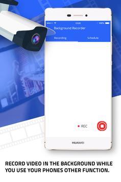 Background video recorder –  Video Recorder Pro screenshot 1