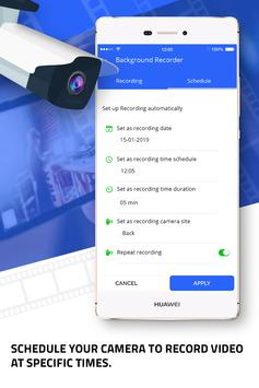 Background video recorder –  Video Recorder Pro screenshot 2