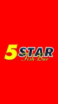 5 Start Fish Bar poster