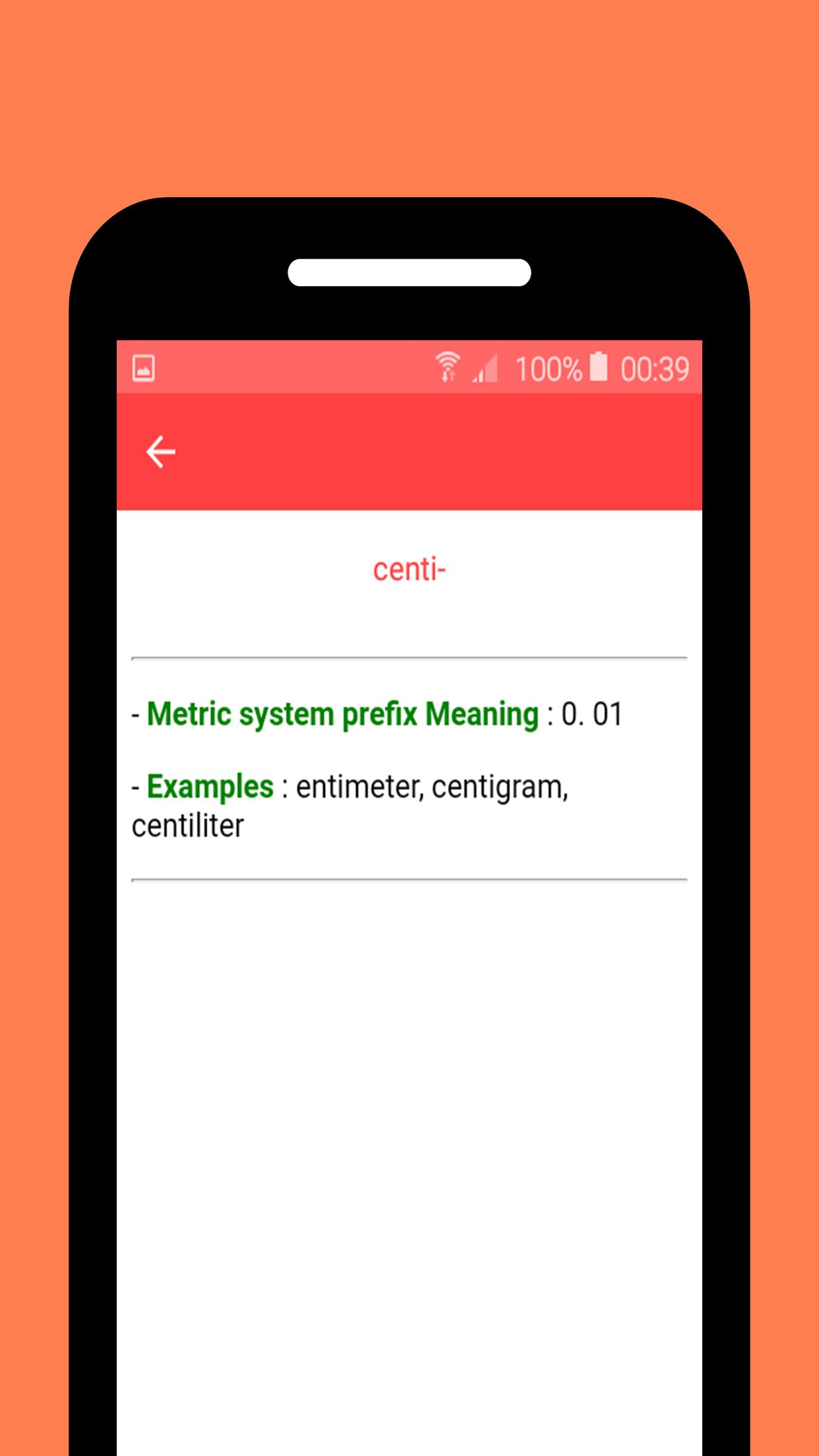 Prefixes and Suffixes & Root Word for Android - APK Download