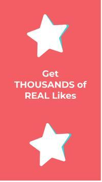 TikFollowers - get tiktok followers & tiktok likes screenshot 1