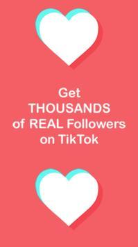 TikFollowers- TikTok get followers, Tik Tok likes screenshot 1