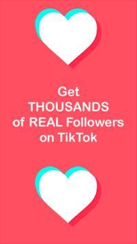 TikLikes - Get tiktok followers & tiktok likes poster