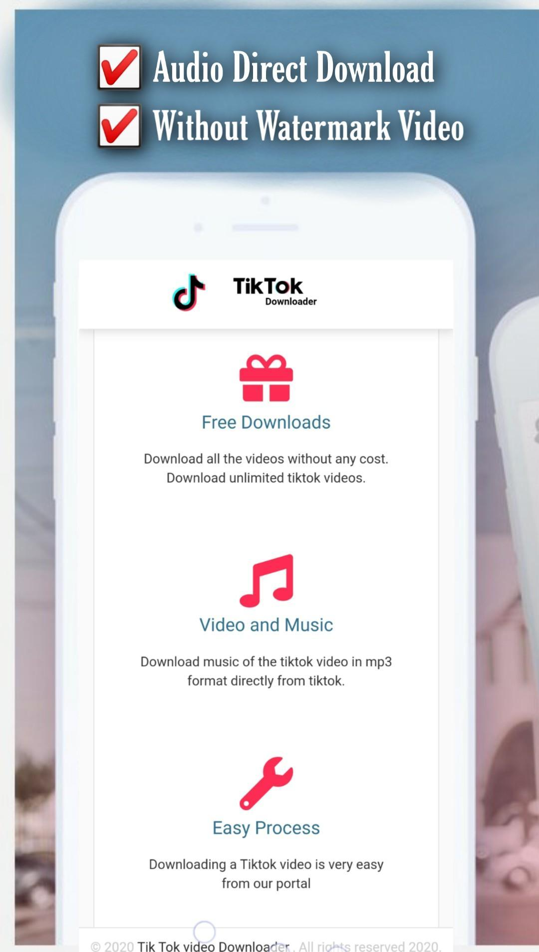 Tiktok Video Without Watermark For Android Apk Download