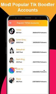 Followers and Likes For tiktok Free screenshot 1