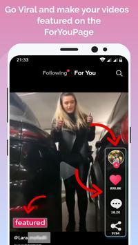 TikFame😍Free Tiktok Followers Likes & FYP Booster screenshot 1
