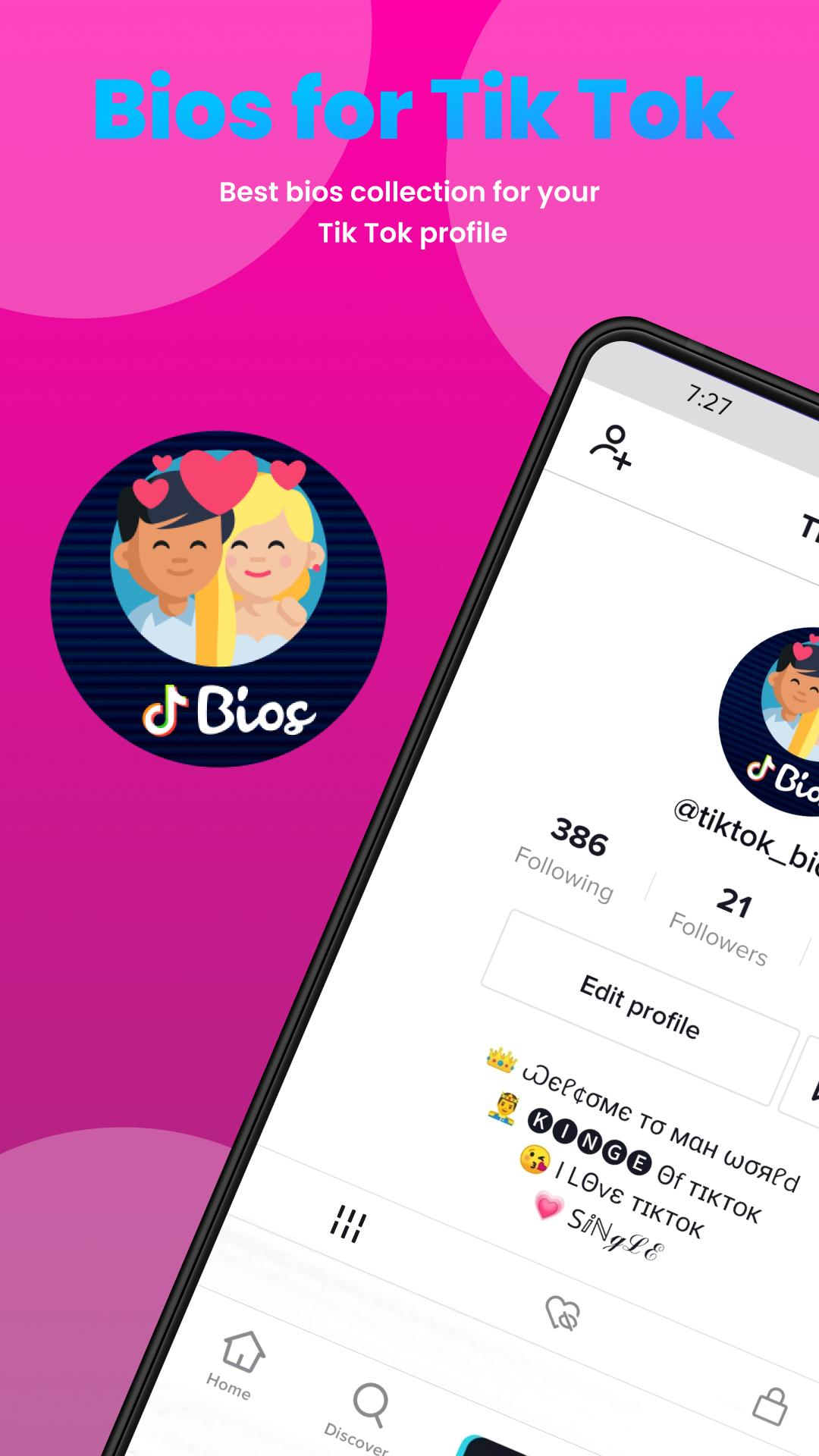 Bios For Tik Tok For Android Apk Download