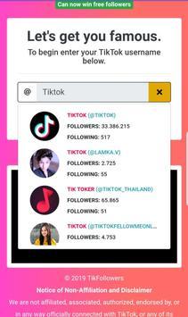 TikFans screenshot 1
