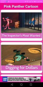 Pink Panther Cartoon screenshot 1