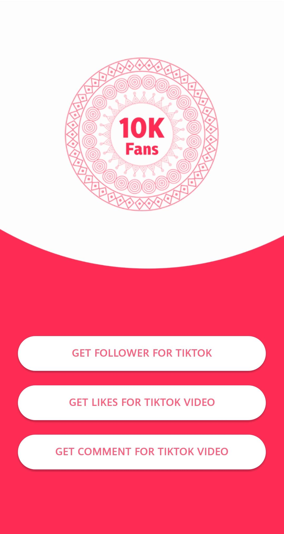 Fans for tik-tok - Likes and Followers for Android - APK