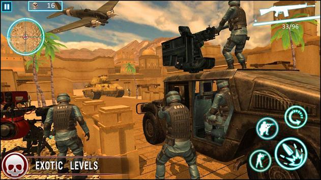 عاصفة الصحراء الكبرى مدفعي لعبة فيس تصوير الشاشة 1