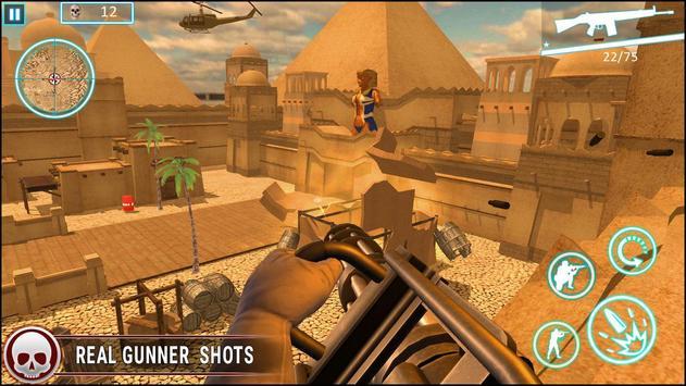 عاصفة الصحراء الكبرى مدفعي لعبة فيس تصوير الشاشة 2