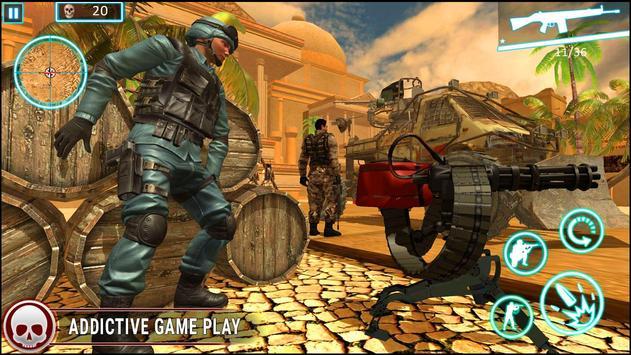 عاصفة الصحراء الكبرى مدفعي لعبة فيس تصوير الشاشة 8